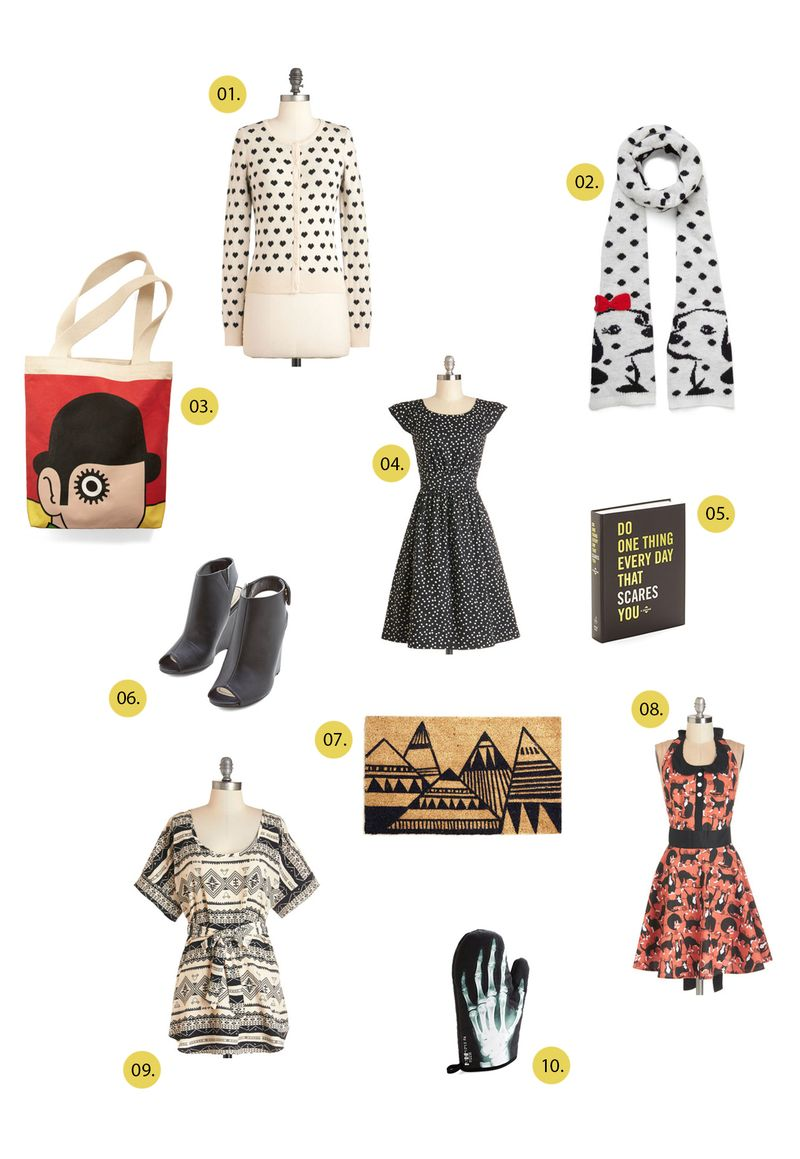Holiday gift shopping wishlist