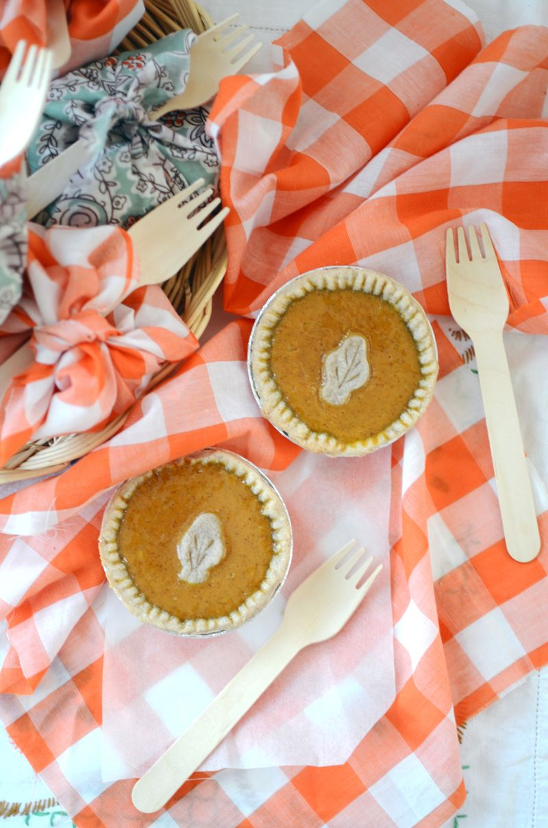 Petite pumpkin pie1
