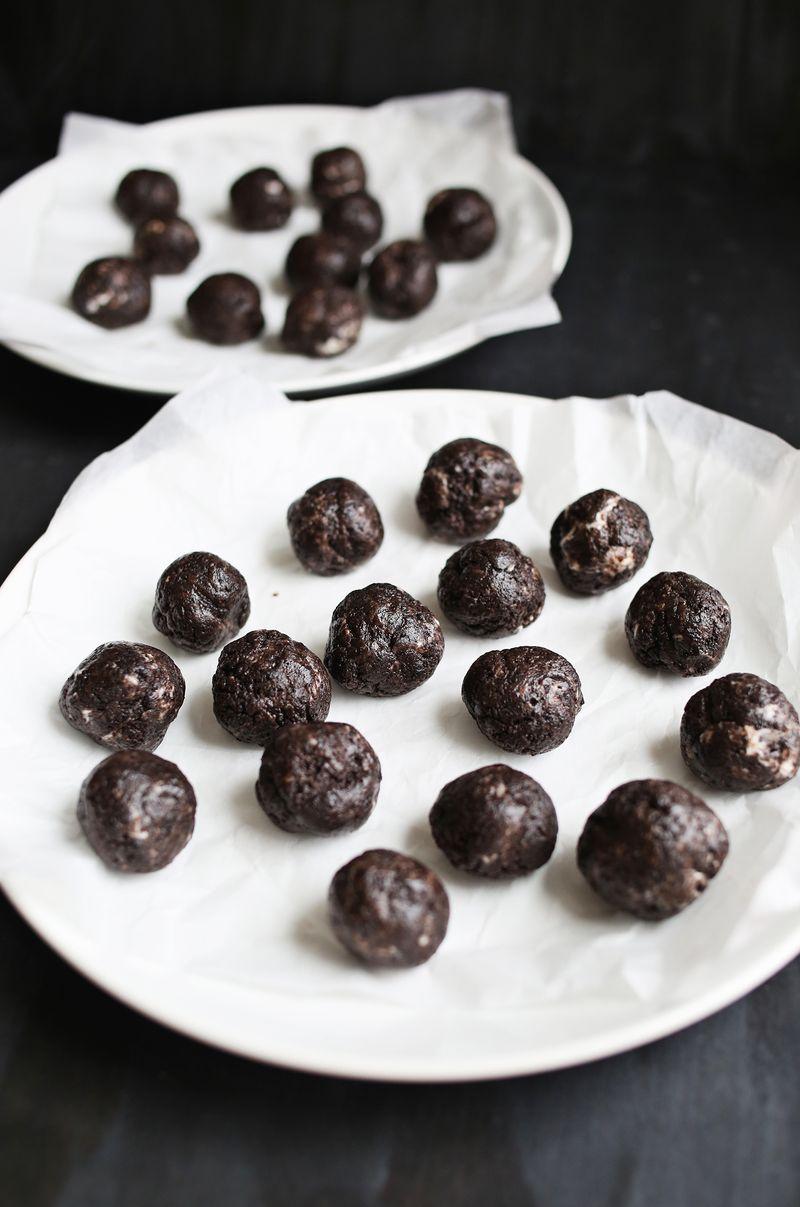 How to make oreo truffles