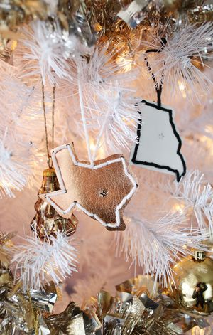 Try This: Stitched Leather Ornaments