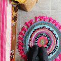 Woven Circle Mat DIY - January 05, 2015