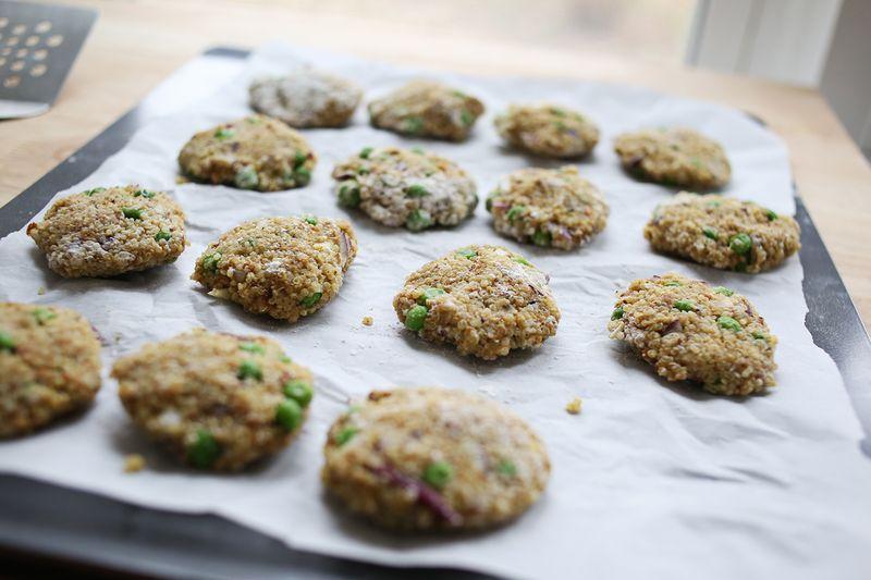 How to make quinoa patties