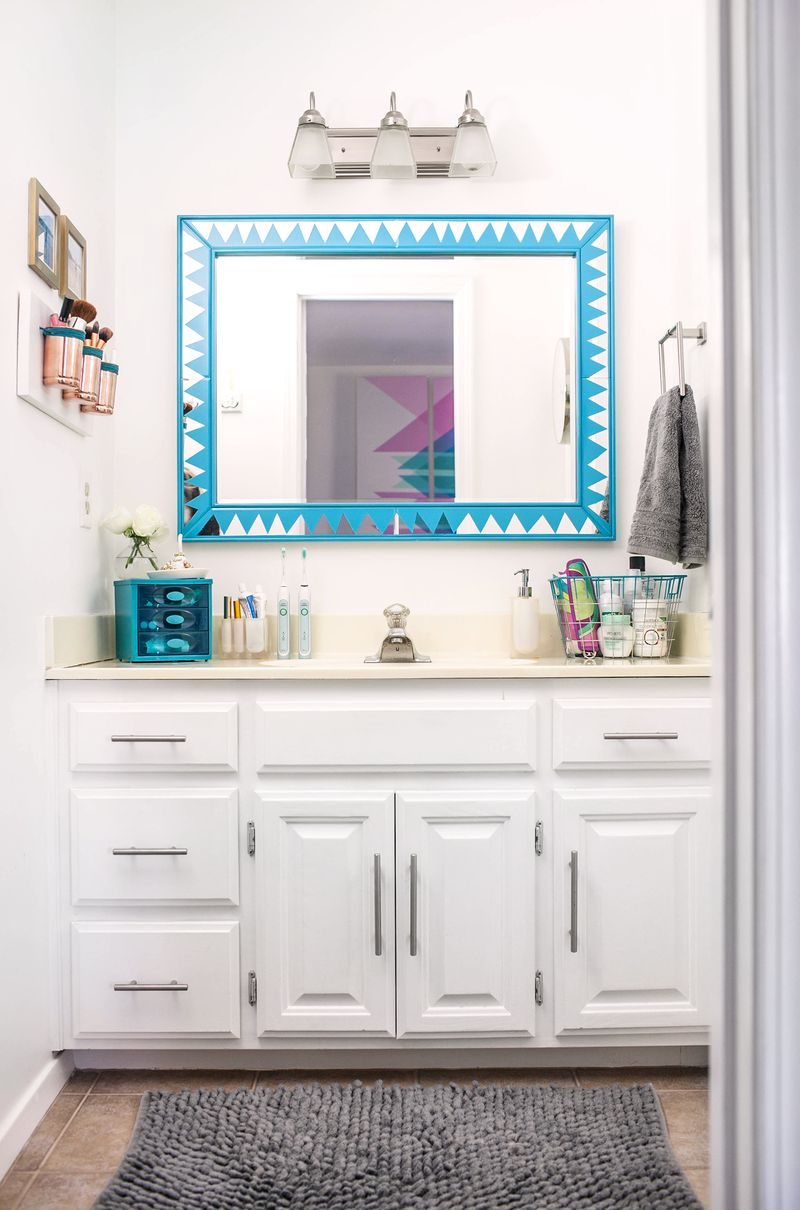 Organizing Bathroom Vanity