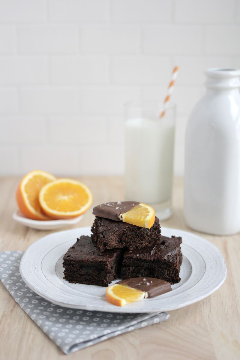 Lightened up brownies