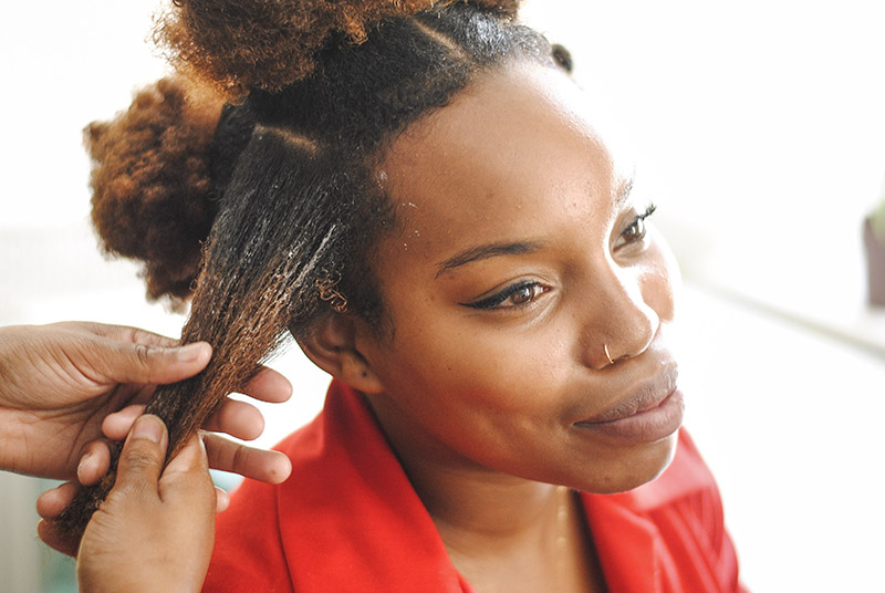 Easy Bantu Knots For All Hair Types A Beautiful Mess