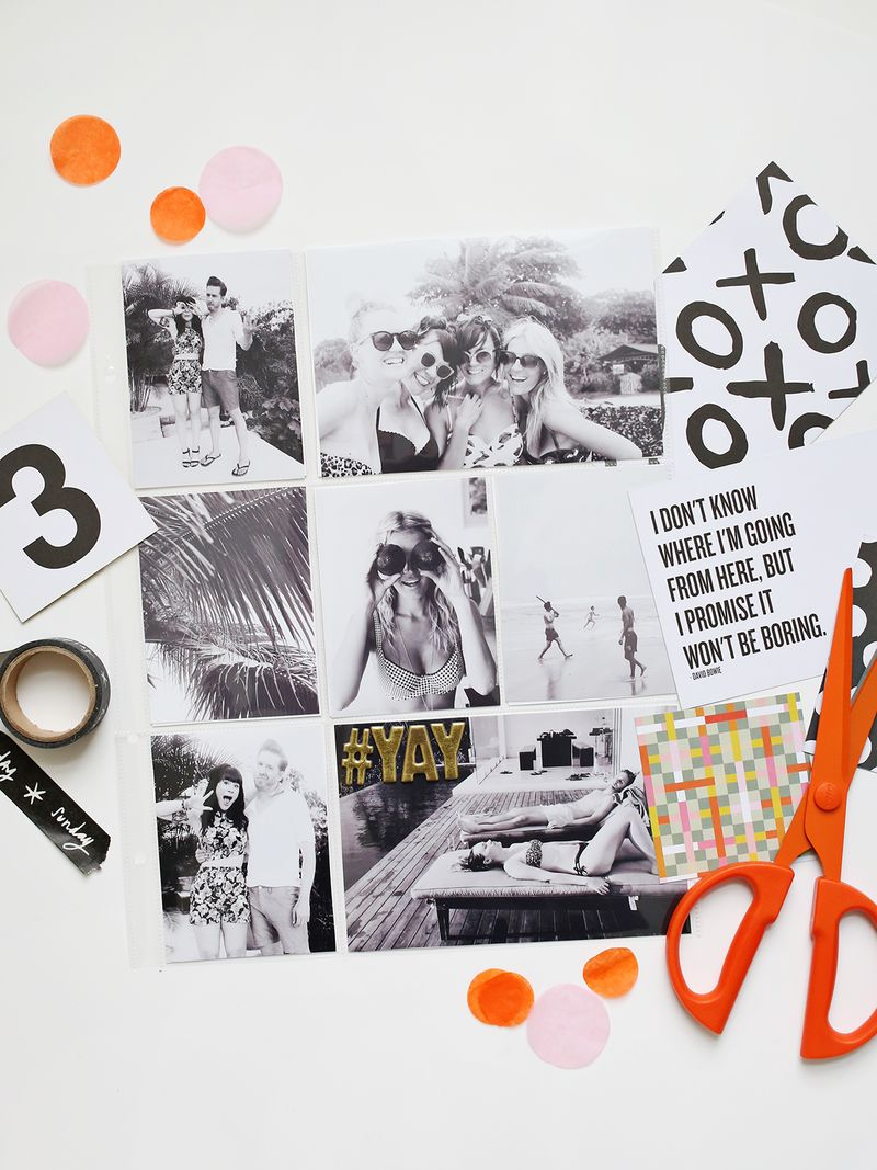 Scrapbooking with The Messy Box