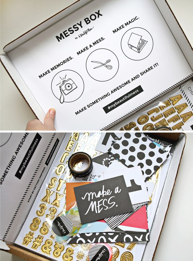 Messy Box by A Beautiful Mess