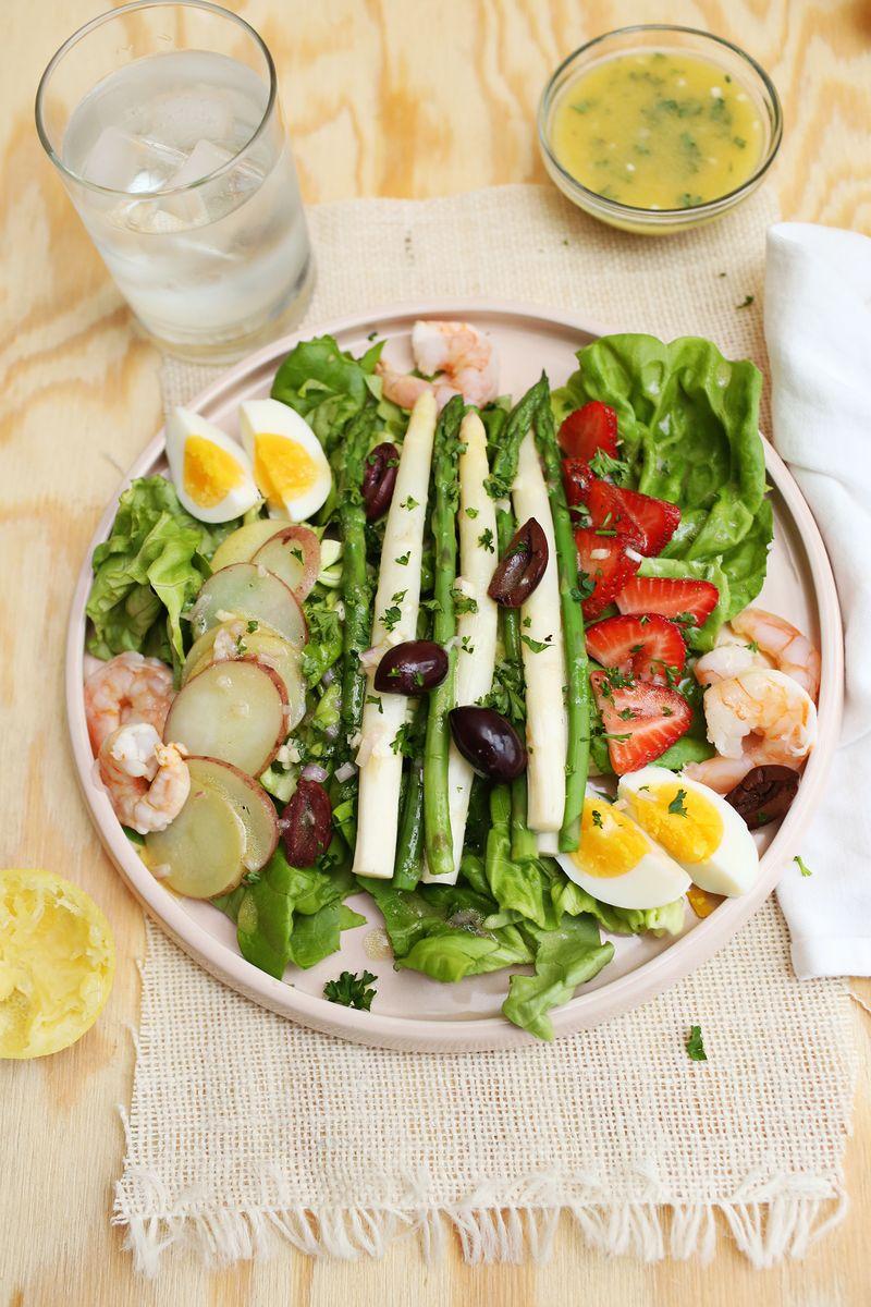 Spring salad nocoise (via abeautifulmess.com)