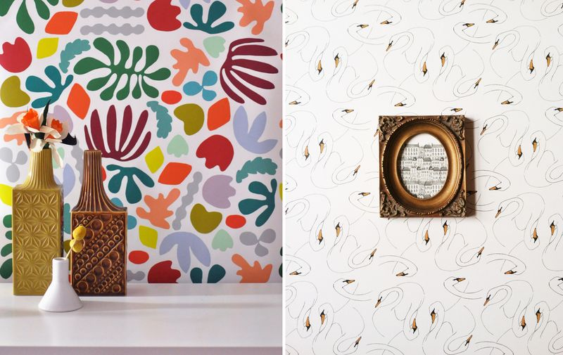 Awesome removable wallpaper!