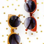 Make Your Own Glitter Sunglasses!