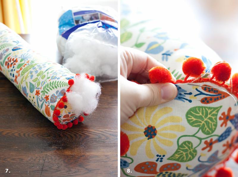 How to Make a Custom Bolster Pillow