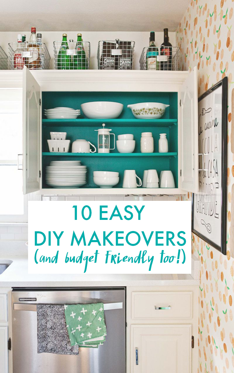 10 Easy DIY Makeovers (with Major Wow Factor!) - A Beautiful Mess