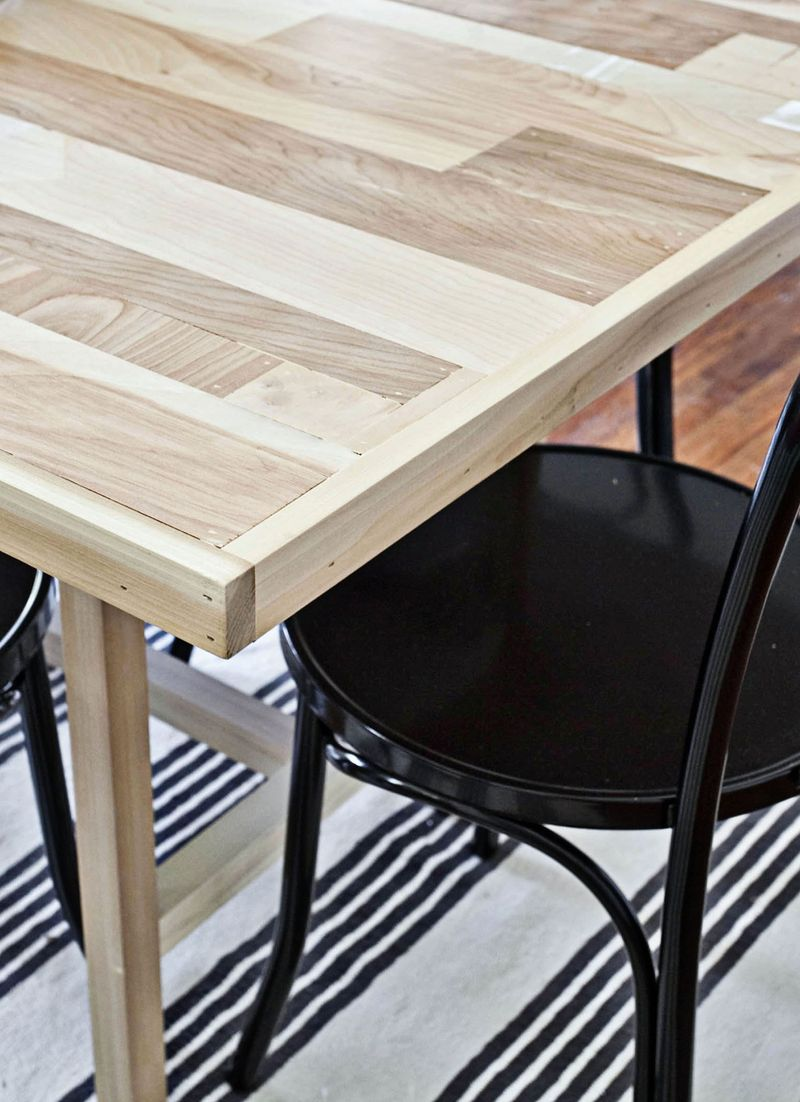 diy dining room table - Making Dining Room Table