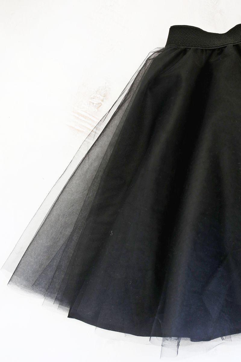 Tulle Circle Skirt DIY - A Beautiful Mess