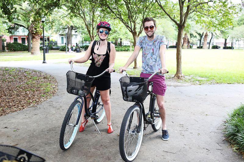 Bikes in nola