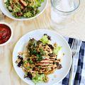 Spicy Tempeh Taco Salad - June 08, 2015