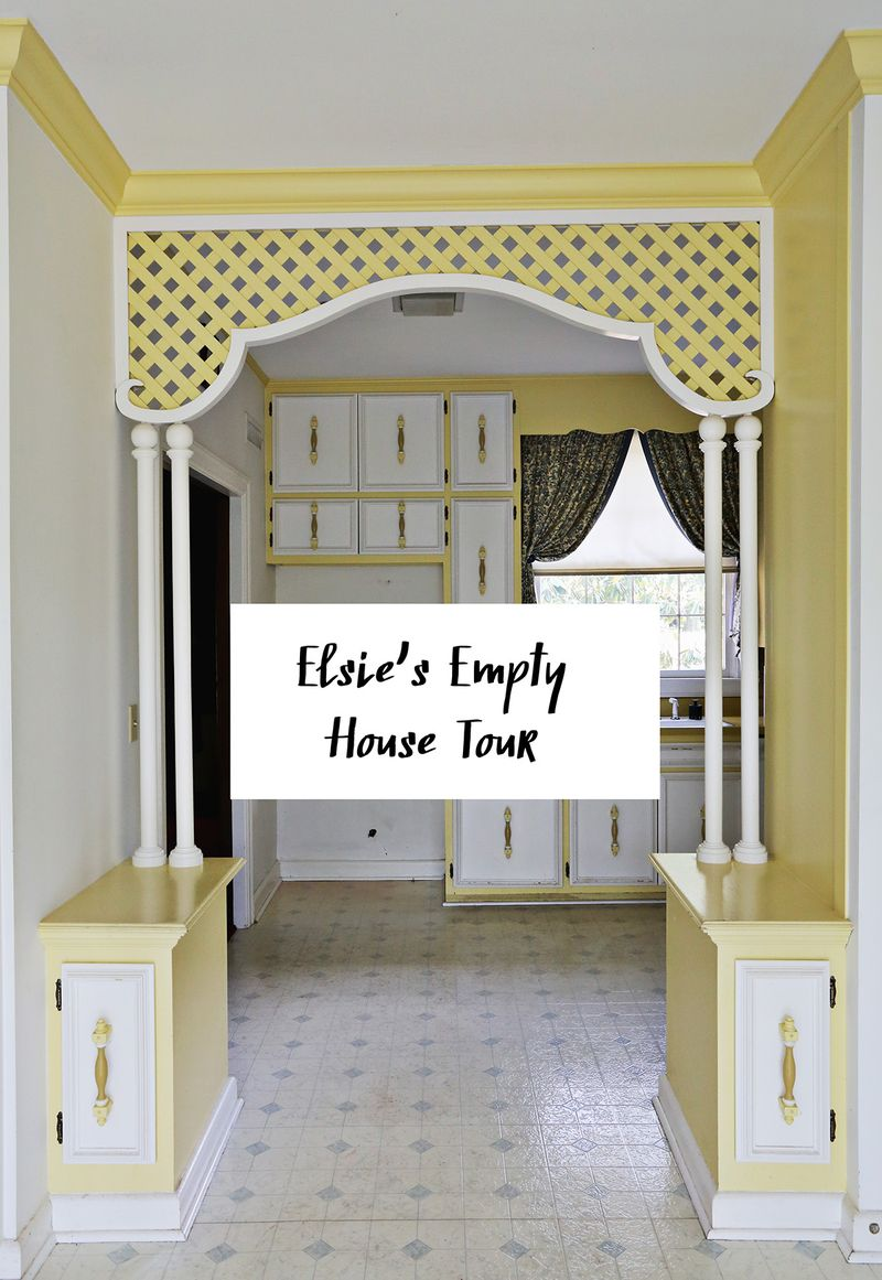 Elsie's Empty House Tour (the BEFORE)