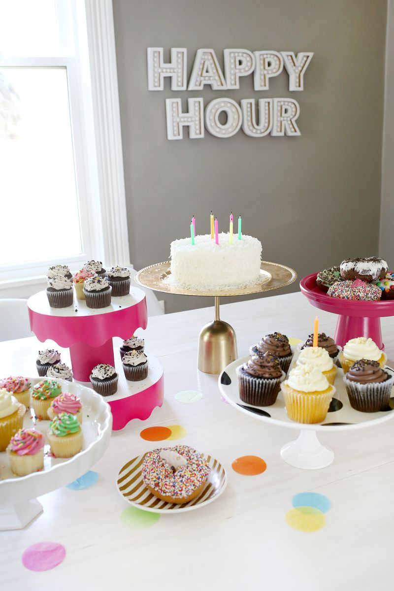 5 temporary cake stand ideas