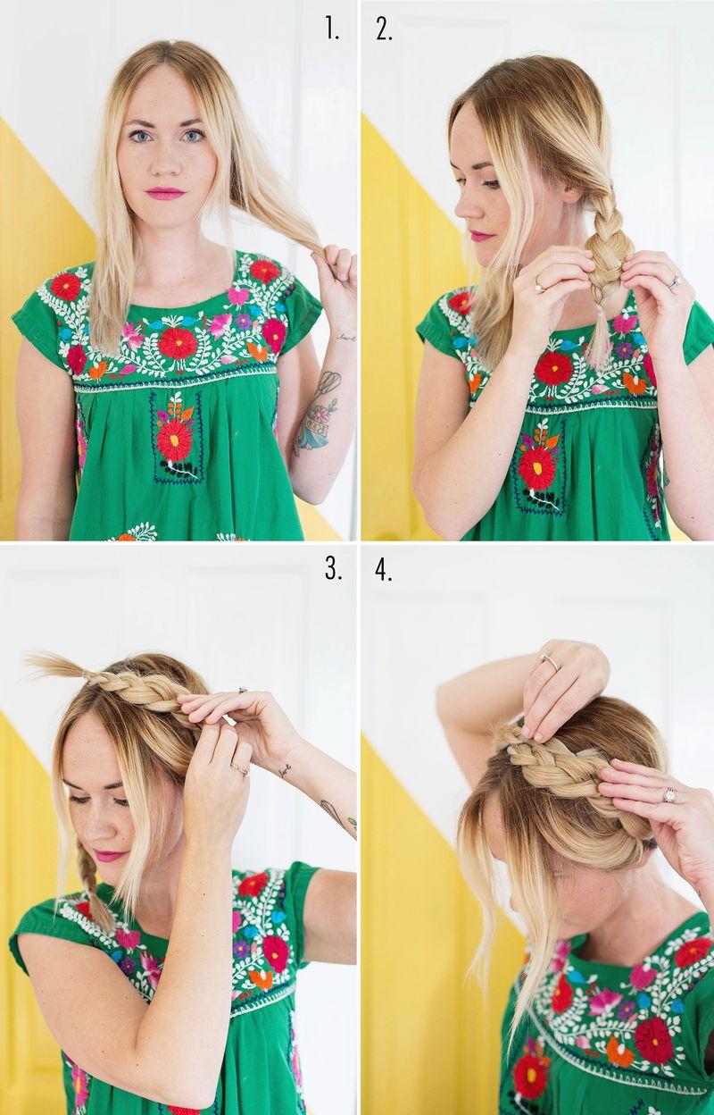 How to style milkmaid braids (via abeautifulmess.com)
