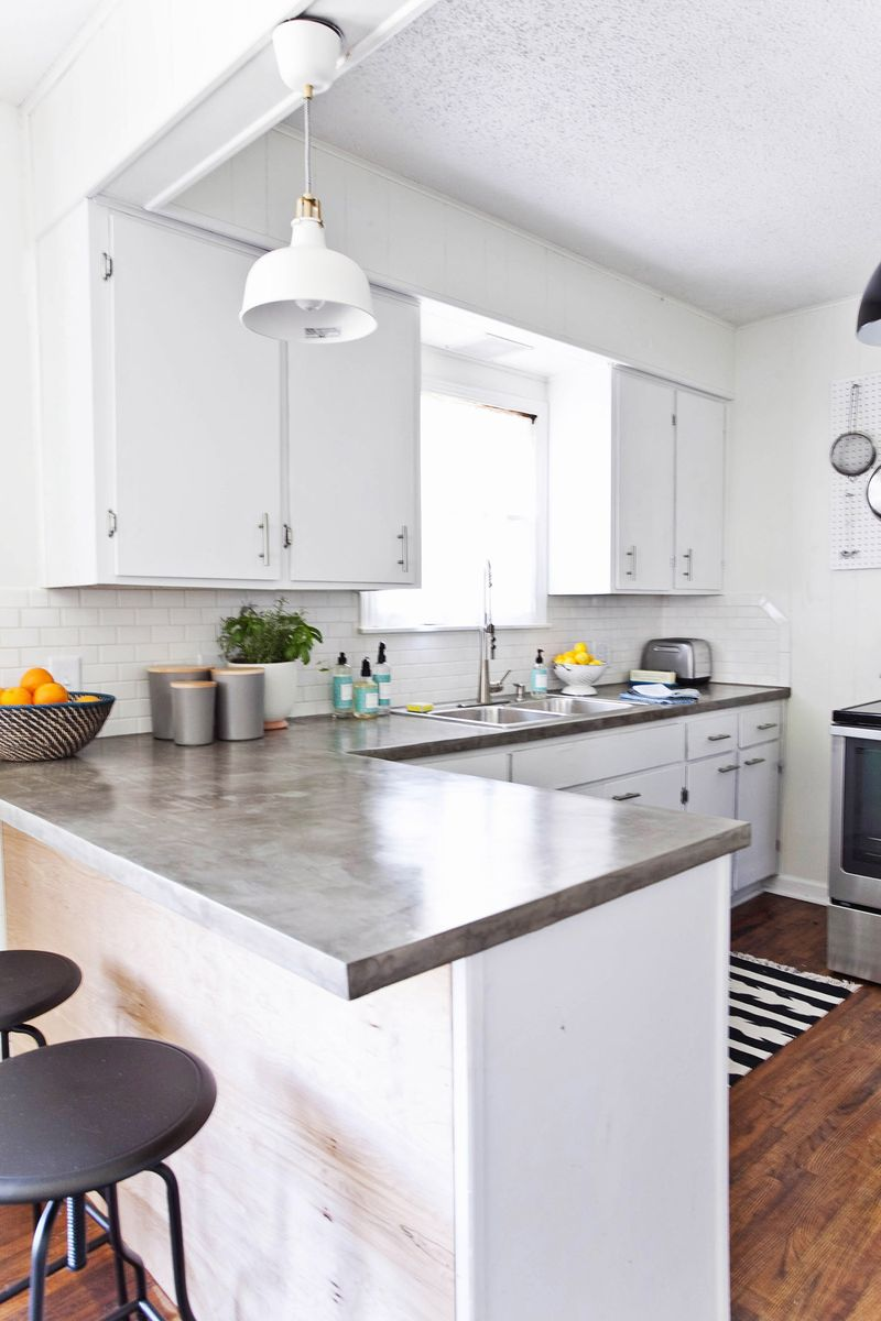 HFHS House: Kitchen (Before + After) - A Beautiful Mess