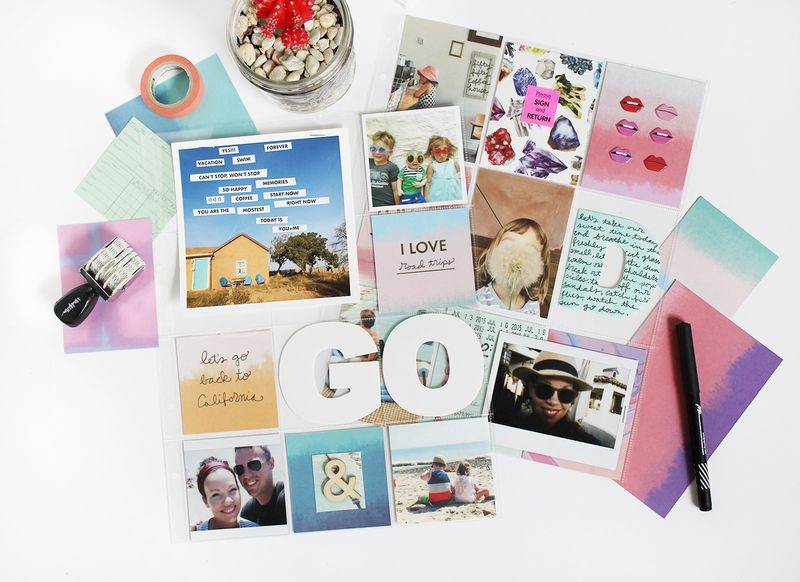 ScrapbookSunday-August Messy Box