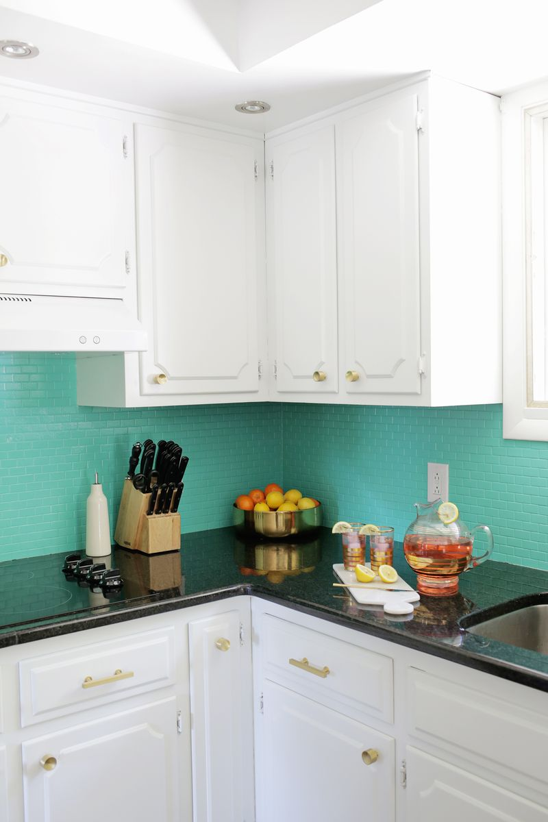 how to paint tiles in kitchen how to paint a tile backsplash a beautiful mess 8820