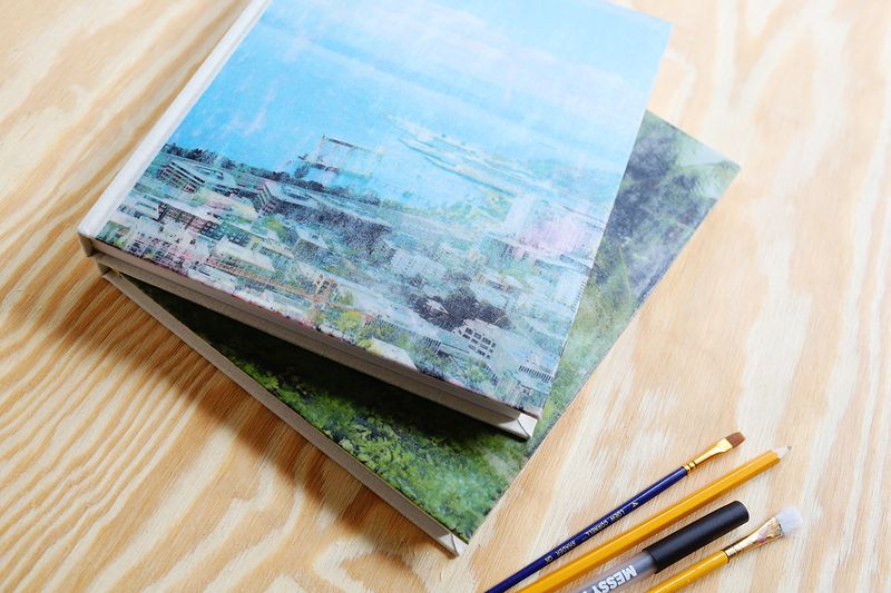 Fabric transfer journals