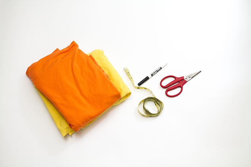 Woven Fabric Necklace DIY (click through for tutorial)