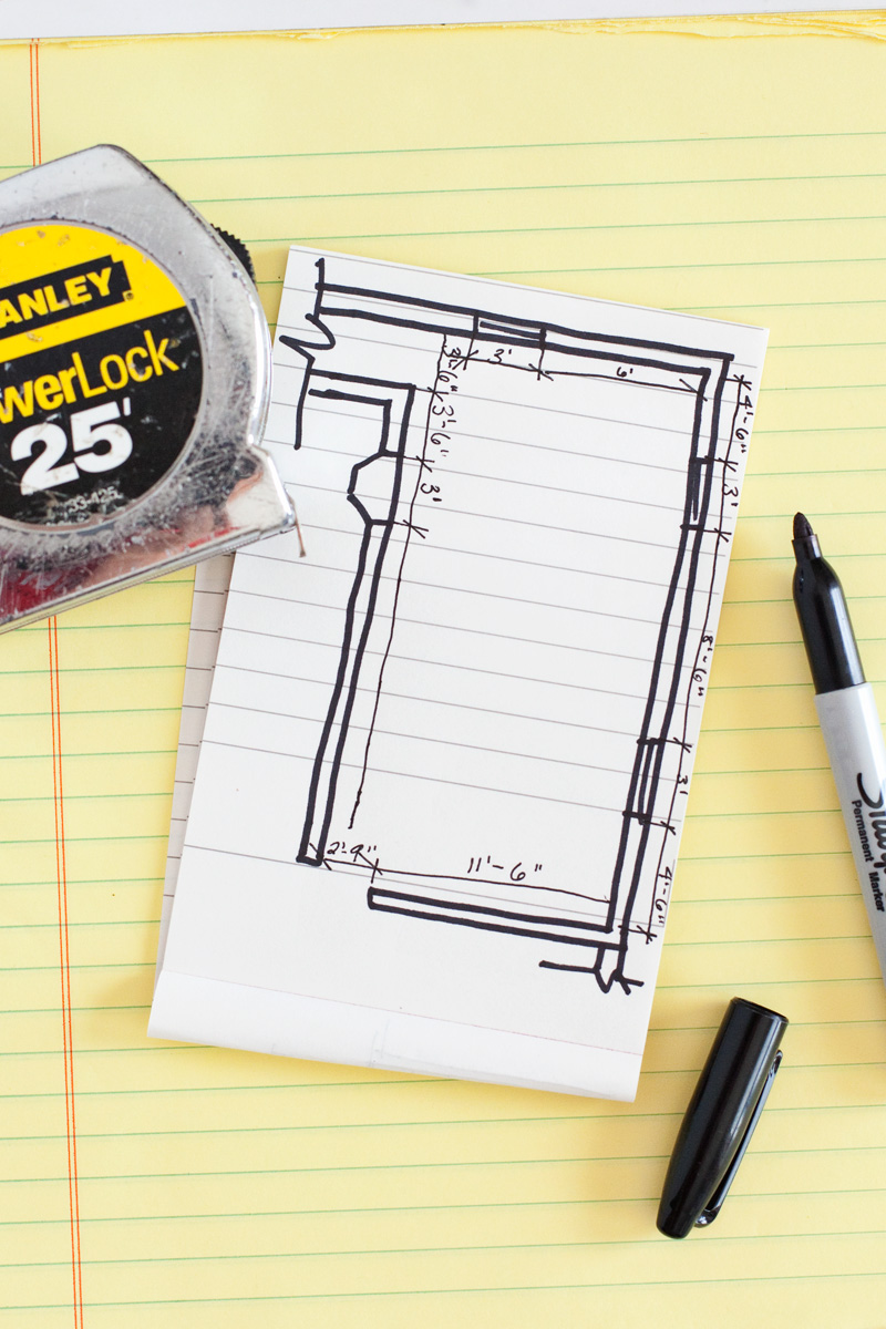 How to Draw a Floor Plan – A Beautiful Mess
