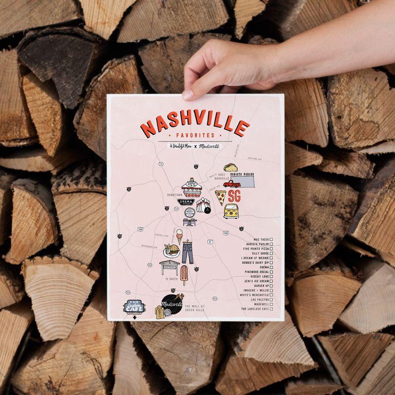 Nashville Poster ABMxMadewell