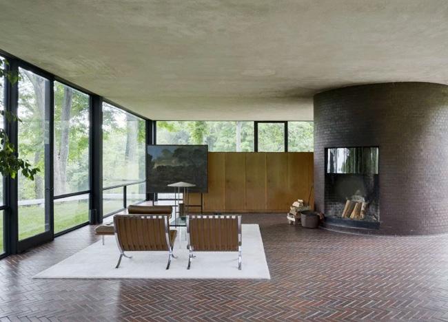 Philip-johnson's-glass-house