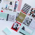 Scrapbook Sunday: Reuse Your Photo Cut-Offs - October 11, 2015