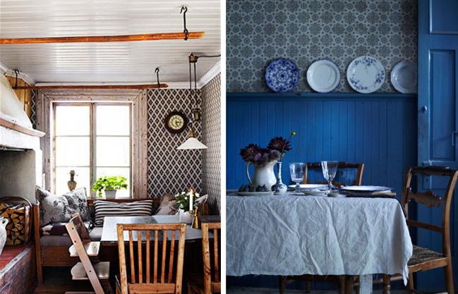 traditional Scandinavian kitchens