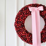 Cranberry Wreath DIY (+ Contest)