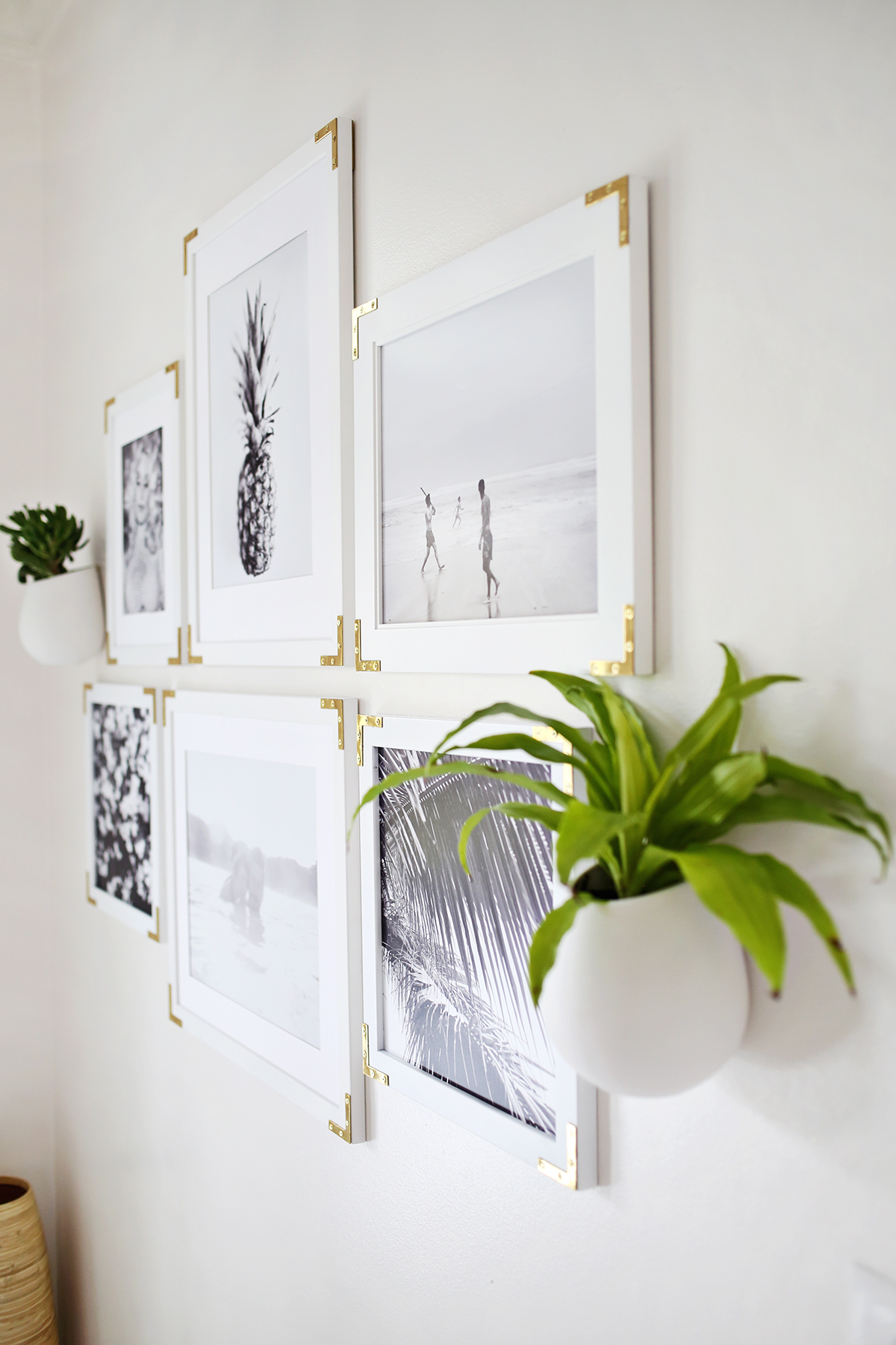 Try This: Update Simple Frames With Gold Hardware – A Beautiful Mess