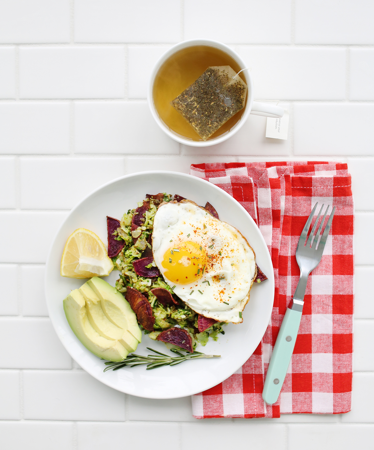 Brussels Sprout + Purple Potato Hash (aka the best brunch ever!) - A ...
