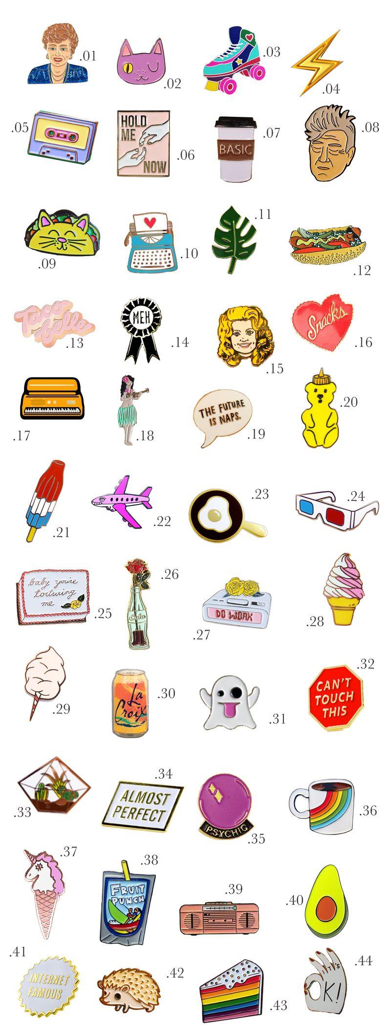 Enamel Pin Shopping Guide (Part 2!)