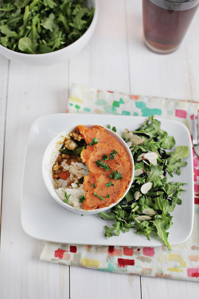 Vegetarian shepherd's pie (via abeautifulmess.com)