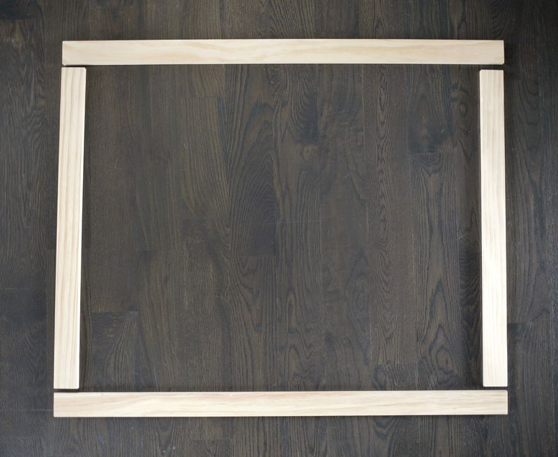 Make an Oversized Frame for a Fraction of the Price! - A Beautiful Mess