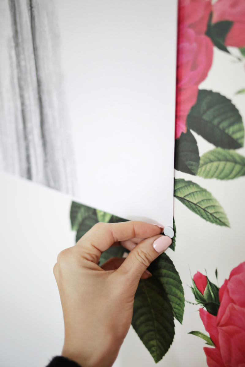 Make an oversized frame for a fraction of the price! (click through for tutorial