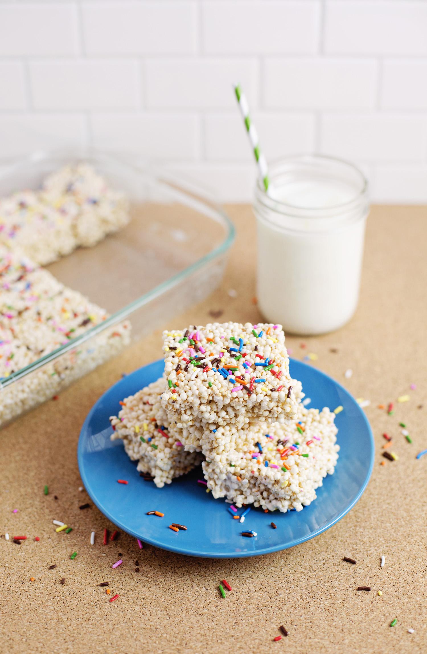 Quinoa Crispies (via abeautifulmess.com)