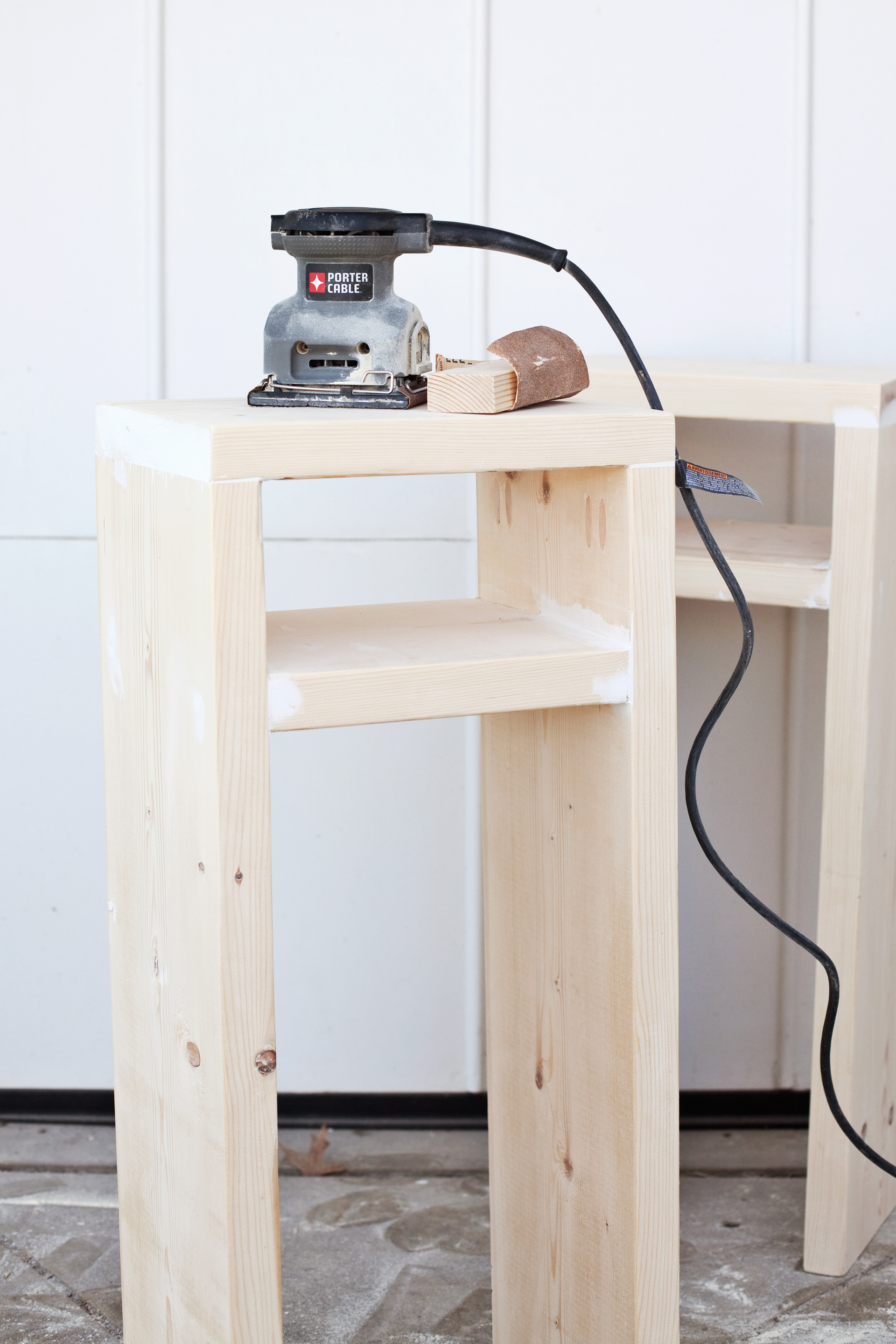 DIY Parsons Nighstand— lumber needed is only $8!