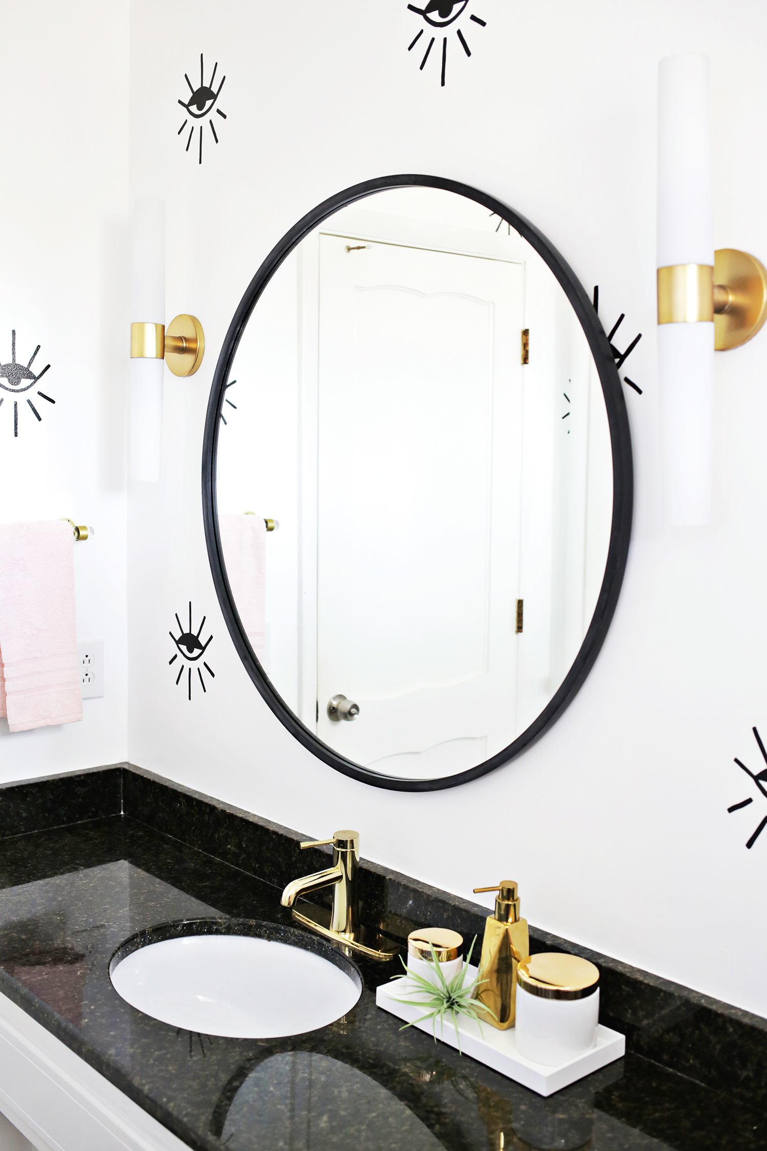 Laura\'s Guest Bathroom (Before + After!) - A Beautiful Mess