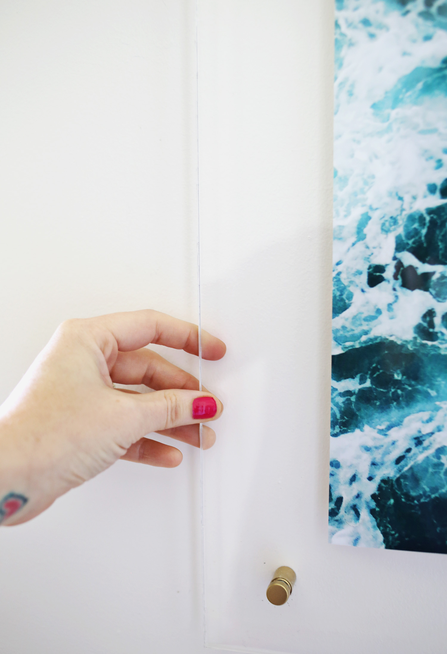 How to make an acrylic frame! via A Beautiful Mess