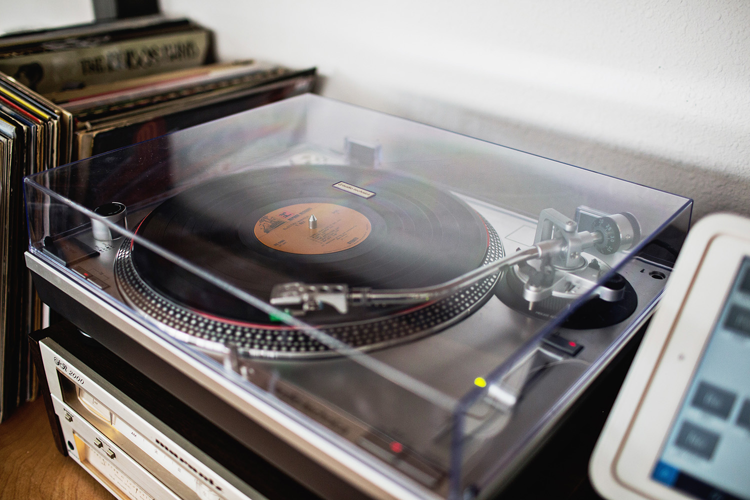 The Golden Girl Rum Club record player