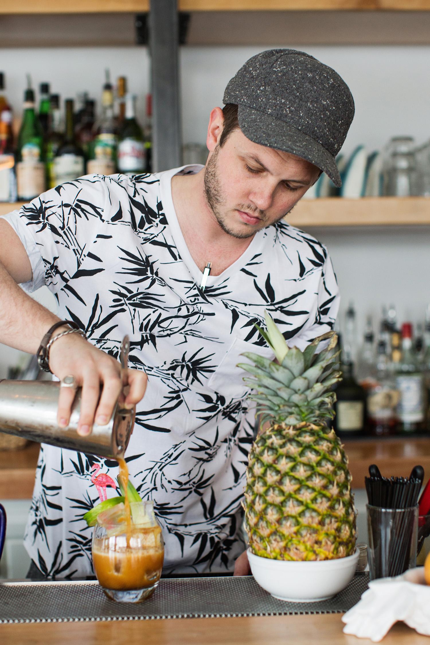 The Golden Girl Rum Club owner Josh Widner