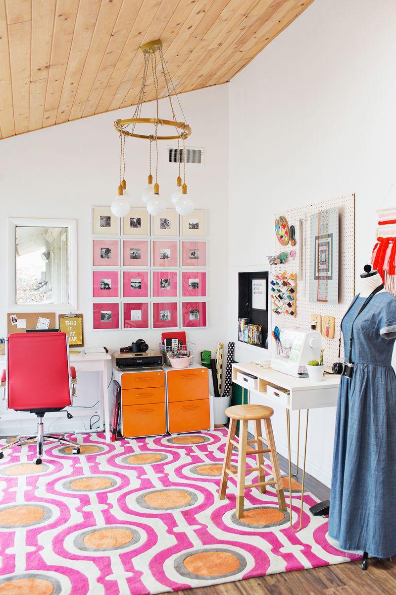 Emma Chapman's home office