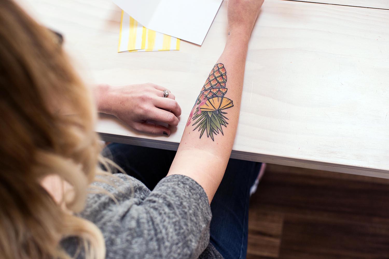 Emma's new tattoo