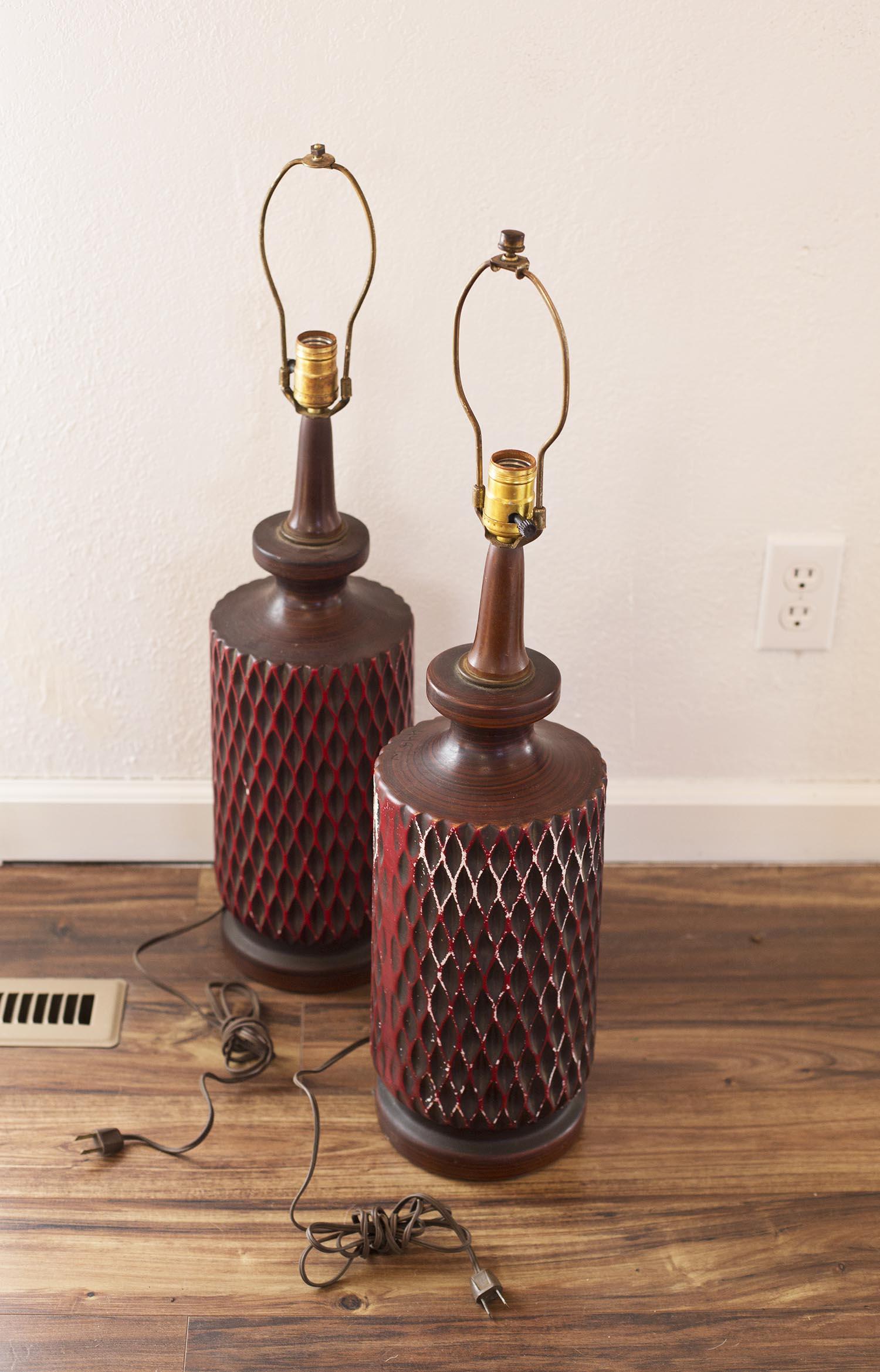 Used lamp pair