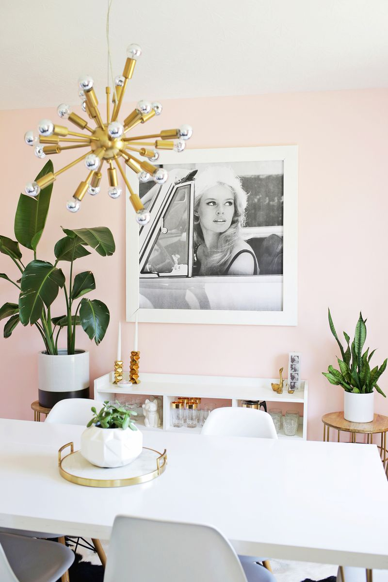 Bright + airy sitting:dining room makeover (click through to see before and after!)